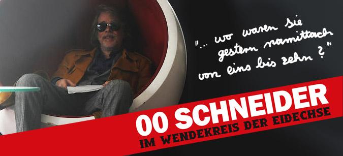 00 Schneider - Im Wendekreis der Eidechse  © Senator Home Entertainment